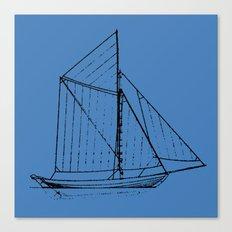 Eka Blue Canvas Print