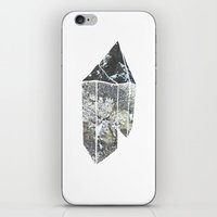 crystal iPhone & iPod Skins featuring Crystal by Beatricepl