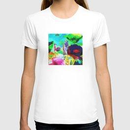 Dans un jardin T-shirt