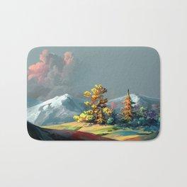 Little Forest On Mountain Top Ultra HD Bath Mat