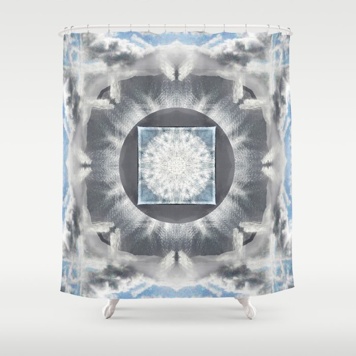Morning: Corniglia Shower Curtain