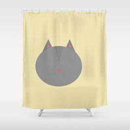 Cat 2 Shower Curtain