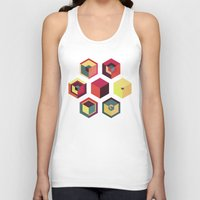 fez Tank Tops featuring Idea Kitchen by Terran Relic