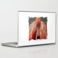 literature Laptop & iPad Skins featuring Flamingo in Literature II by Mandy Tabatt