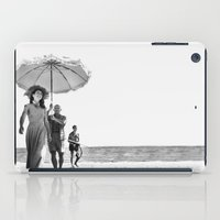pablo picasso iPad Cases featuring PABLO PICASSO AT BEACH by VAGABOND
