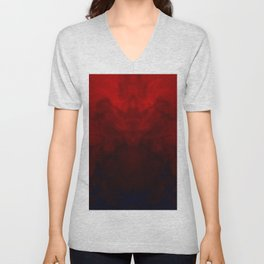 Rage abstract Unisex V-Neck