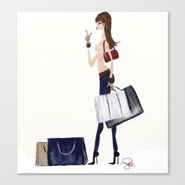 GC Um Taxi ! Illustration  Canvas Print