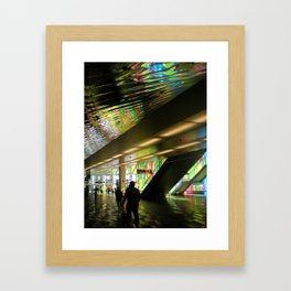 Color and Reflection Framed Art Print