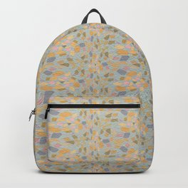 VESTIGE modern take on vintage chintz wallpaper Backpack