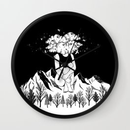 Across The Universe Wall Clock