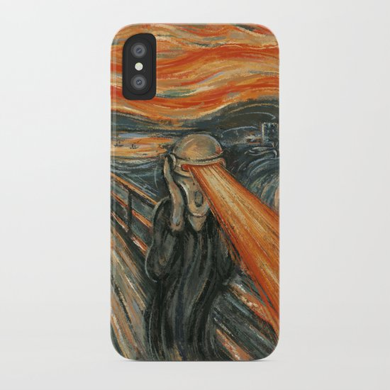 Art Attack iPhone Case