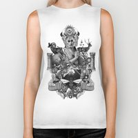 pagan Biker Tanks featuring PAGAN WICCAN II by DIVIDUS