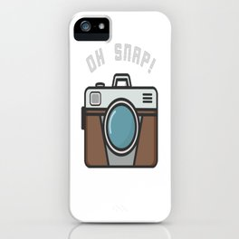 Camera Pun iPhone Case