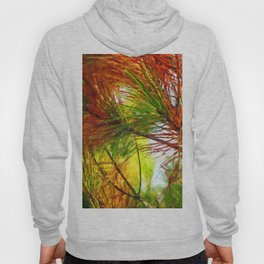 Pine branches with long and dense needles Hoody
