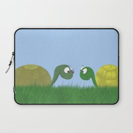 Ellie and Ollie, and Their New Friend Laptop Sleeve