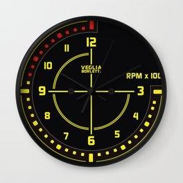 Lancia Delta Tachometer Clock Wall Clock