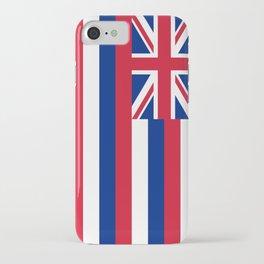 Flag of Hawaii - Hawaiian Flag iPhone Case