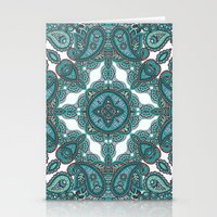 paisley Stationery Cards featuring paisley by gtrappdesign