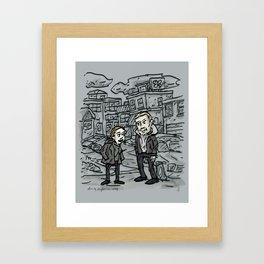 Linden and Holder Framed Art Print