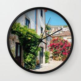 Portugal, Obidos (RR 182) Analog 6x6 odak Ektar 100 Wall Clock