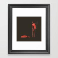 Embarrassing rich Framed Art Print