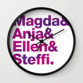 &_&_&_! Wall Clock