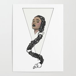 Janelle Monae Tour Merch Poster