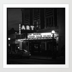 The Art Theater. Art Print