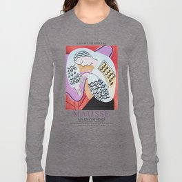 Matisse Exhibition - Aix-en-Provence - The Dream Artwork Long Sleeve T-shirt