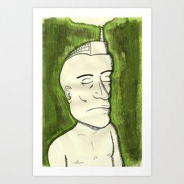 Heaviness#1 Art Print