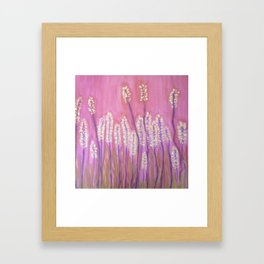 Springtime- pink Framed Art Print