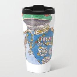 Illustrious Frog Metal Travel Mug
