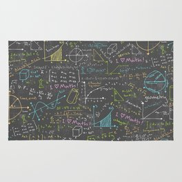 Math Lessons Rug