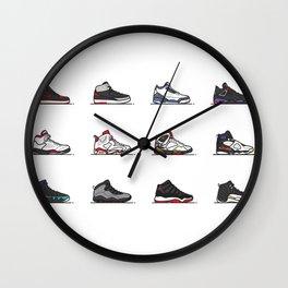 aj 1-12 are my favs especially I, IIi, IV, VI, IX, XI, XII Wall Clock