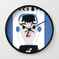 dad Wall Clocks featuring Tech Dad by Susse Collection