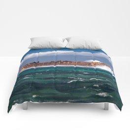 Brown rock valley Comforters