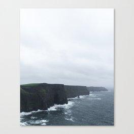 Endless Cliffs Canvas Print