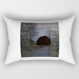 the tunnel Rectangular Pillow