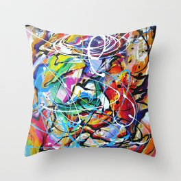 Joy of Living Throw Pillow