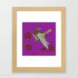 Gjøk / Cuco Framed Art Print