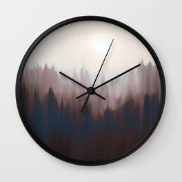 Taupe Silence Wall Clock