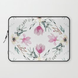 Floral Square Laptop Sleeve