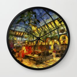 Covent Garden Van Gogh Wall Clock