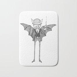Watson the Bat Bath Mat