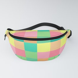 color squares fun love cute art new 2018 style fashion hot pop artist cover case skin shirt bag wall Fanny Pack