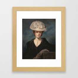 Joshua Reynolds - Miss Mary Hickey - 1770 Framed Art Print