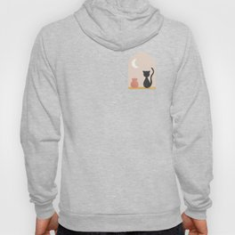 The Cat + the Moon Hoody