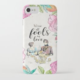 Pride and Prejudice - Fools in Love iPhone Case