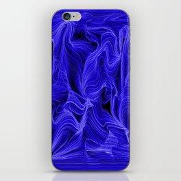 Midnight Blue Mist iPhone Skin