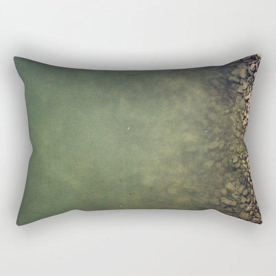 Rocks and water Rectangular Pillow